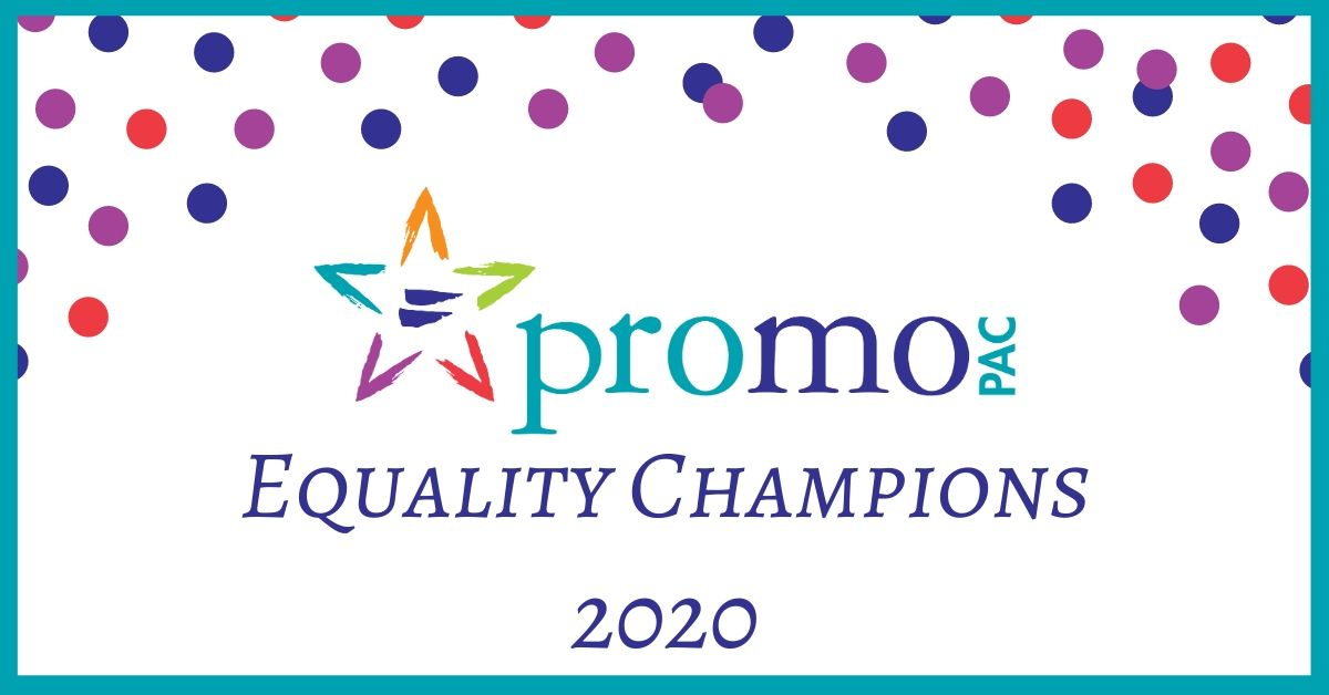 PROMO PAC 2020 Equality Champions